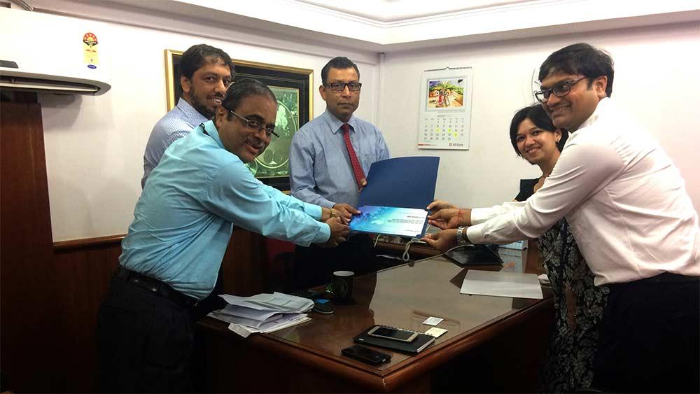 AB Bank Limited, Mumbai Branch, India receives Elite Quality